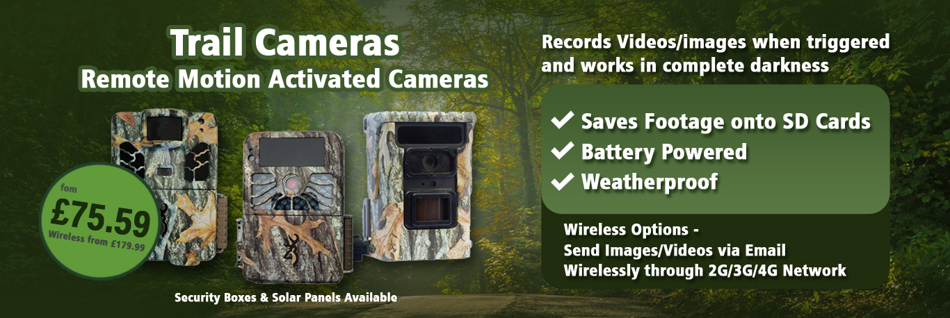 Motion Activated Trap Cameras for Wildlife