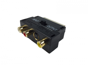 RCA to Scart Adapter