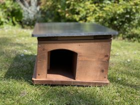 Hedgehog House with Wired HD TV Camera kit