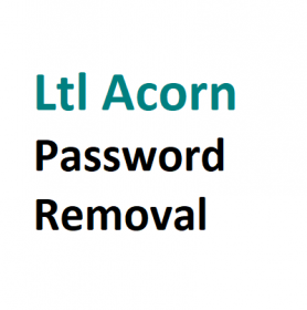 Password Removal - Ltl Acorn Trail Camera